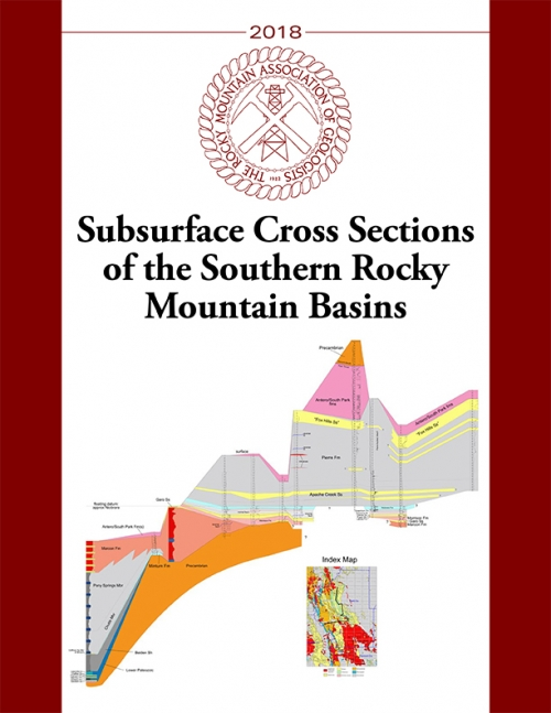 Subsurface Cross Sections of the Southern Rocky Mountain Basins